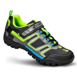 CUBE SCARPE MTB ALL MOUNTAIN COLORE BLACK/GREEN/BLUE