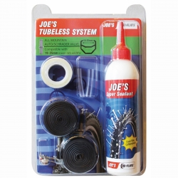 KIT TUBELESS  JOE'S NO FLAT 19-25 VALVOLA AMERICA
