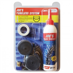JOE'S NO FLAT KIT TUBELESS 19-25 VALVOLA PRESTA