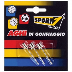 SPORT1 AGO IN METALLO PER PALLONI IN BLISTER 3PZ