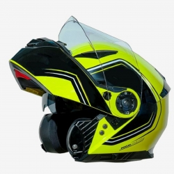 ONE CASCO APRIBILE OUTLINE 2.0 COLORE YELLOW FLUO/BLACK