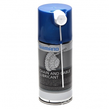 SHIMANO LUBRIFICANTE SPRAY DA 250 ml PER CATENA E CAVI