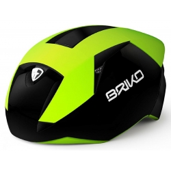 BRIKO CASCO GASS COLORE YELLOW FLUO/BLACK/WHITE