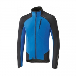 SHIMANO GIUBBINO WINDBREAKER PERFORMANCE COLORE BLUE/BLACK