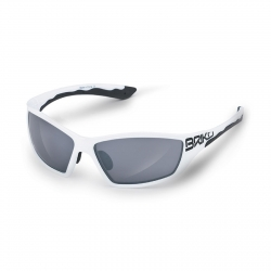 BRIKO OCCHIALI ACTION SM3 COLORE WHITE/BLACK