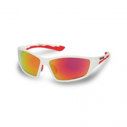 BRIKO OCCHIALI ACTION RM3 COLORE WHITE/RED