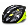 CASCO BRIKO QUARTER COLORE MATT BLACK/WHITE/FLUO