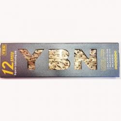YBN SLA-1210 CATENA BICI PER  MTB E CORSA 12 VELOCITA' 126 MAGLIE