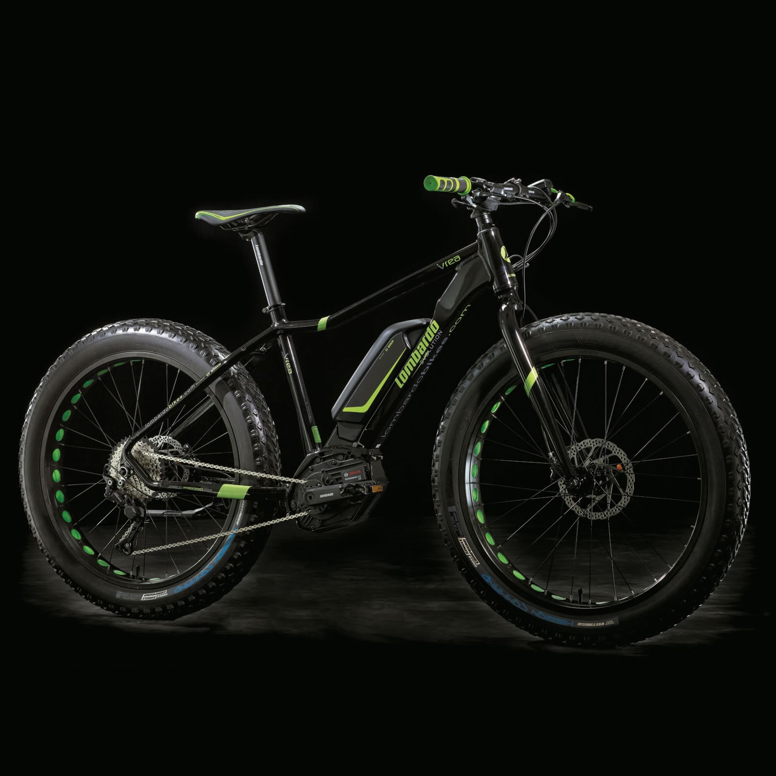 Lombardo Bici Elettrica Fat Bike E Ivrea Fat 26 Bosch Performance Cx 400 Wh 2018 E Shop