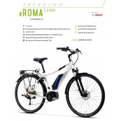 """LOMBARDO BICI ELETTRICA E-ROMA 5.0 UOMO 28"""" BOSCH ACTIVE 300 WH 2018"""