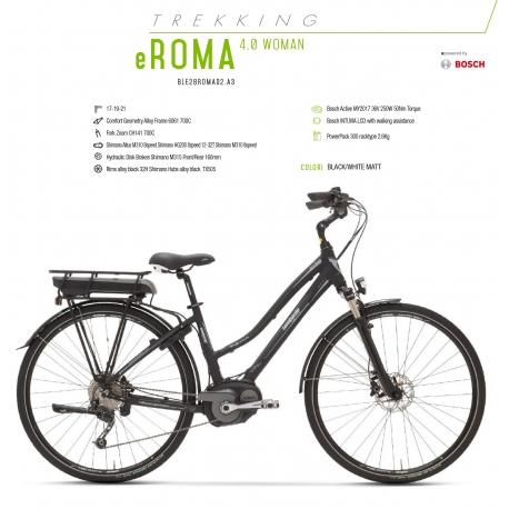Lombardo Bici Elettrica E Roma 40 Donna 28 Bosch Active 300 Wh 2018 E Shop