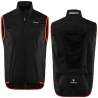 BRIKO GILET PIUMA VEST COLORE BLACK/ORANGE