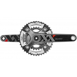 SRAM XX GXP GUARNITURA  PEDIVELLE 175 MM 39-26 10 VELOCITA' (senza GXP movimento centrale 73mm)