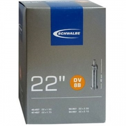 "Camera d'aria Schwalbe DV 8B 22x1.50-1.75"" 40/54-457 DV 40mm"