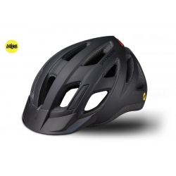 SPECIALIZED CASCO CENTRO LED MPS COLORE NERO