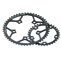 STRONGLIGHT CORONA TYPE 110 C ESTERNA 50 DENTI PER CAMPAGNOLO ULTRA TORQUE COLORE NERO