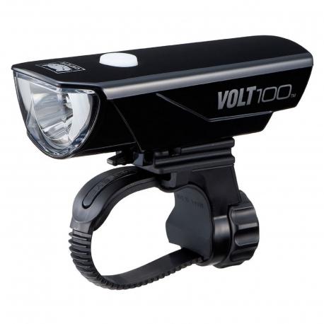 CATEYE FANALE ANTERIORE VOLT100 A LED CON RICARICA USB