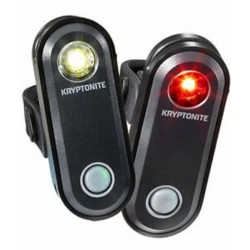 KRYPTONITE KIT LUCI ANTERIORE E POSTERIORE AVENUE F-65 / R-30 ATTACCO USB 1 LED