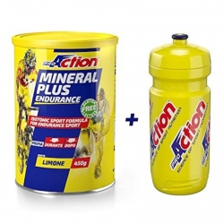 PROACTION MINERAL PLUS ENDURANCE GUSTO LIMONE 450 g + BORRACCIA