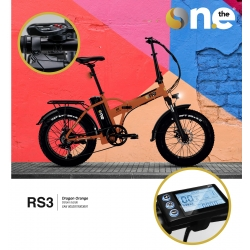 ICONE E-BIKE RS3 DRAGON ORANGE