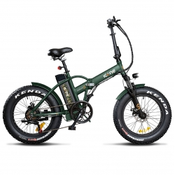 "ICONE E-BIKE PIEGHEVOLE FAT 20"" ALLROAD MARINES S"