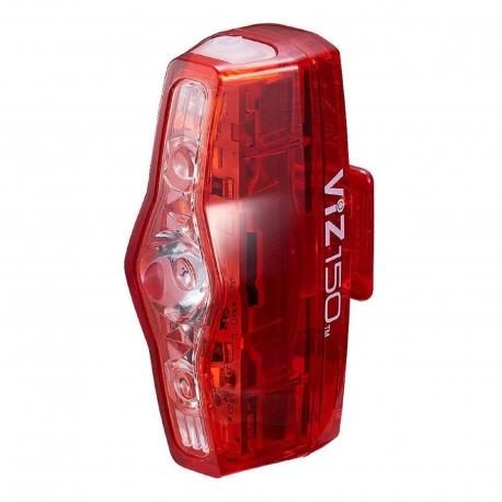CATEYE FANALE POSTERIORE VIZ150 LED ROSSI RICARICA USB
