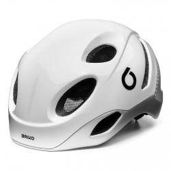 BRIKO CASCO E-ONE LED MISURA L COLORE WHITE/SILVER